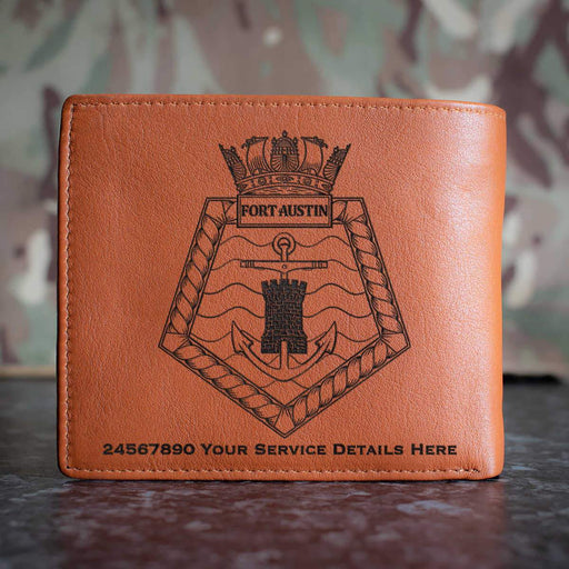 Fort Austin Leather Wallet
