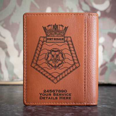 Fort Rosalie Credit Card Wallet
