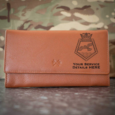 Gold Rover Leather Purse