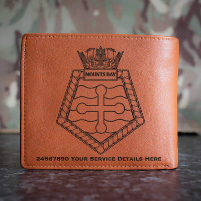 Mounts Bay Leather Wallet