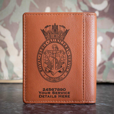 Royal Fleet Auxilliary Credit Card Wallet