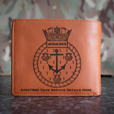 Audacious Leather Wallet