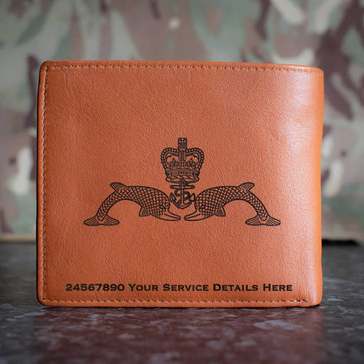Submariners Dolphins Leather Wallet