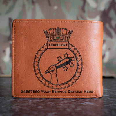 Turbulent Leather Wallet