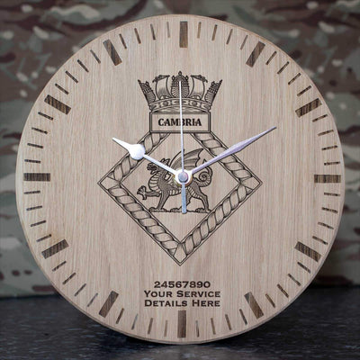 Cambria Oak Clock
