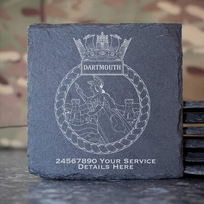 Dartmouth Slate Coaster