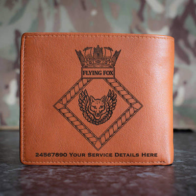 Flying Fox Leather Wallet