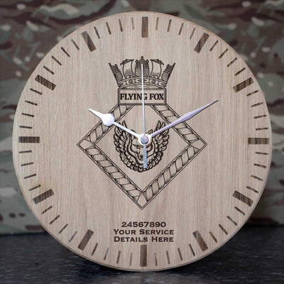 Flying Fox Oak Clock