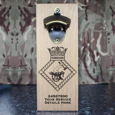 Forward Wall-Mounted Bottle Opener