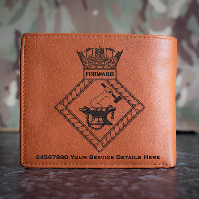 Forward Leather Wallet