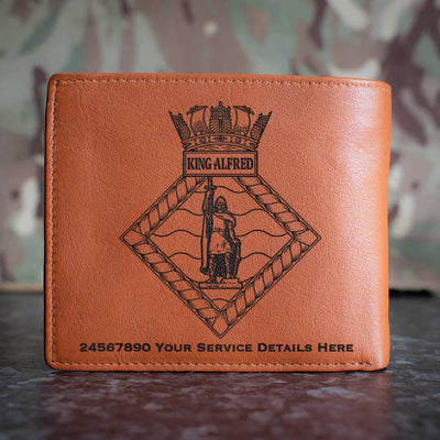 King Alfred Leather Wallet