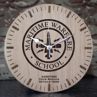 MWS Oak Clock