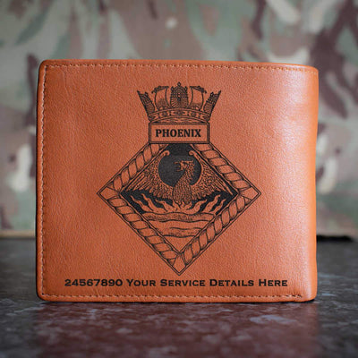 Phoenix Leather Wallet