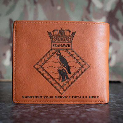 Seahawk Leather Wallet