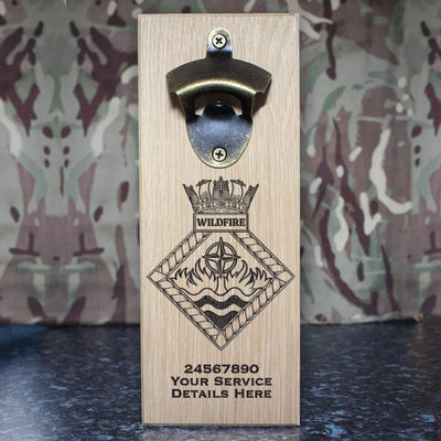 Wild Fire Wall-Mounted Bottle Opener
