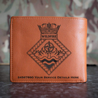 Wild Fire Leather Wallet