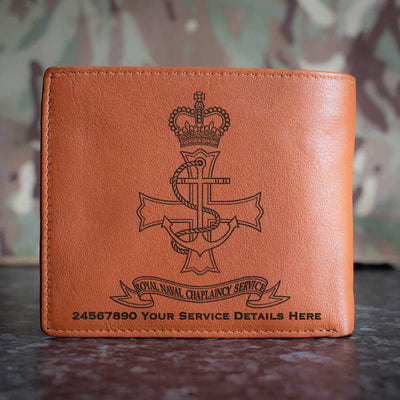 Chaplaincy Leather Wallet