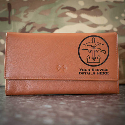 Combined Ops Leather Purse