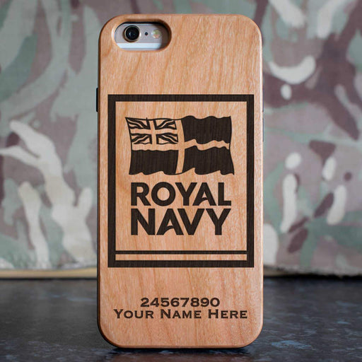 Navy Logo Phone Case