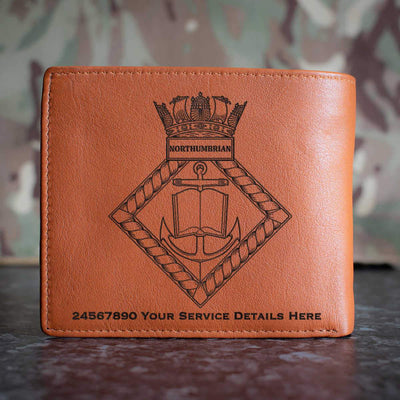 Northumbrian Leather Wallet