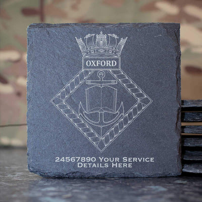Oxford Slate Coaster