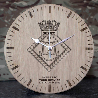 Sussex Oak Clock