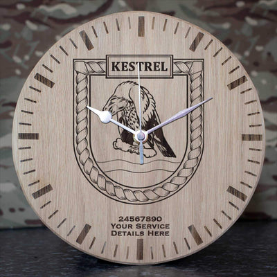 Kestrel Oak Clock