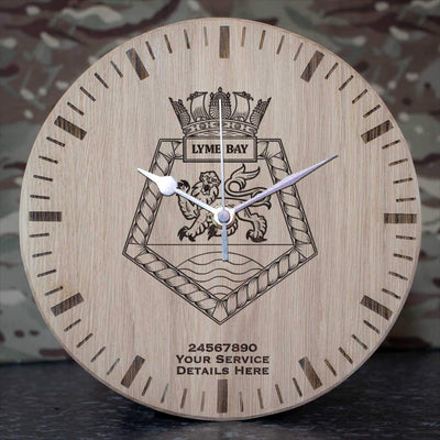 Lyme Bay Oak Clock