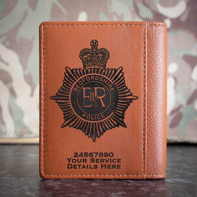 Bedfordshire Police Credit Card Wallet