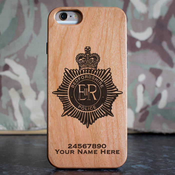 Bedfordshire Police Phone Case