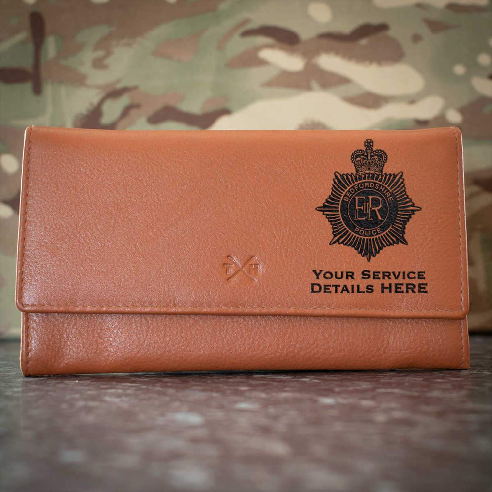 Bedfordshire Police Leather Purse