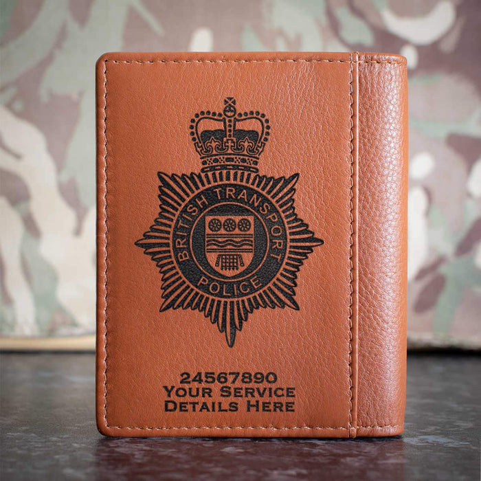 British Transport Police Credit Card Wallet
