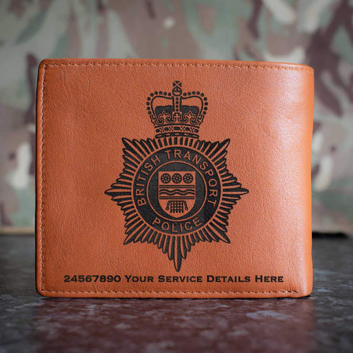 British Transport Police Leather Wallet