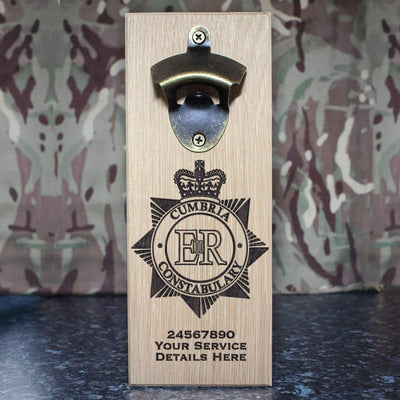 Cumbria Police Wall-Mounted Bottle Opener