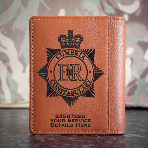 Cumbria Police Credit Card Wallet