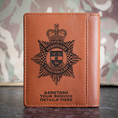 Derbyshire Constabulary Credit Card Wallet