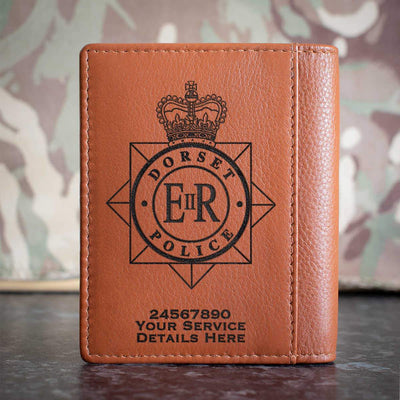 Dorset Police Credit Card Wallet