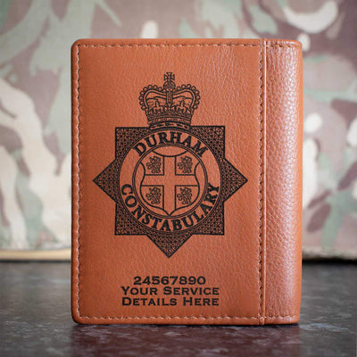 Durham Constabulary Credit Card Wallet