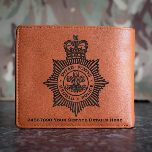 Dyfed Powys Police Leather Wallet