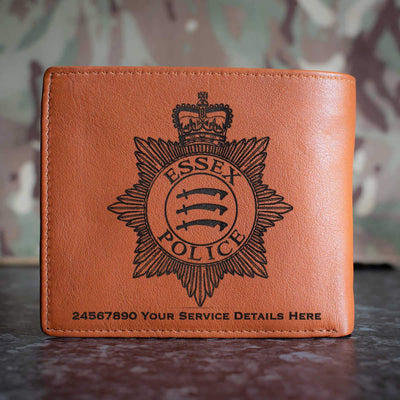Essex Police Leather Wallet