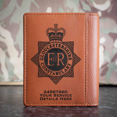 Gloucestershire Constabulary Credit Card Wallet