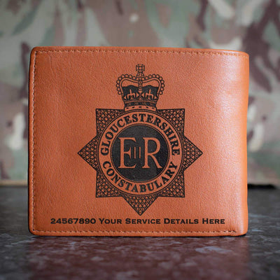 Gloucestershire Constabulary Leather Wallet