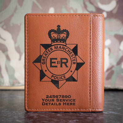 Greater Manchester Police Credit Card Wallet