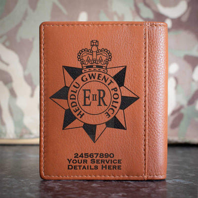 Gwent Police Credit Card Wallet