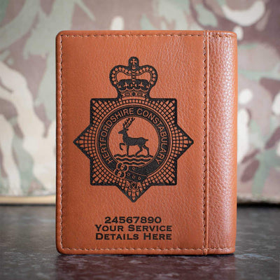 Hertfordshire Constabulary Credit Card Wallet