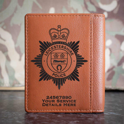 Leicestershire Police Credit Card Wallet