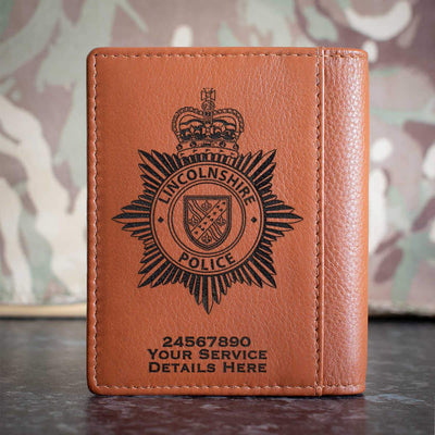 lincolnshire police Credit Card Wallet
