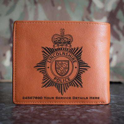 lincolnshire police Leather Wallet