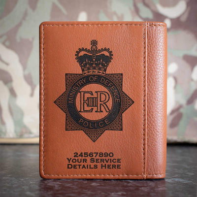 Ministry of Defence Police Credit Card Wallet