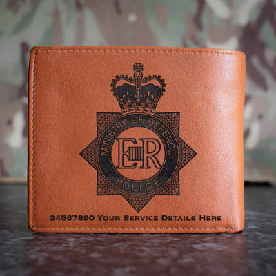 Ministry of Defence Police Leather Wallet